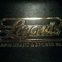 Photo taken at Legends Sports Bar & Restaurant by Erika G. on 4/12/2012