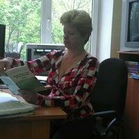 Photo taken at Академическая гимназия № 1534 (1) by Лео C. on 5/14/2012