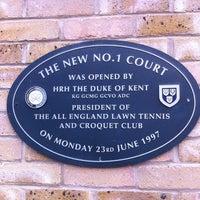 Das Foto wurde bei Court No.1 von Nic L. am 8/1/2012 aufgenommen