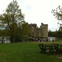 Photo taken at Bodiam Castle by Robert R. on 5/6/2012