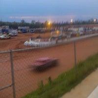 Photo taken at Lancaster Speedway by Jesika R. on 3/31/2012