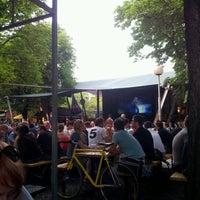 Photo taken at Zahrádky a restaurace Riegrovy sady – Park Café by Сергей Ж. on 6/28/2012