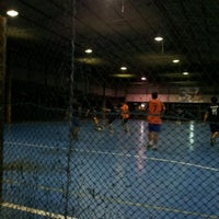 Photo taken at Futsal Centre Tamparuli by Pau F. on 9/7/2012