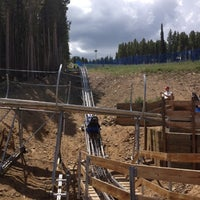 Photo taken at Gold Runner Alpine Coaster by Kevin R. on 7/21/2012