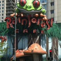 Photo taken at Rainforest Cafe by Cullean R. on 4/27/2012