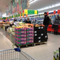 Photo taken at LIDL by Theodora C. on 2/21/2012