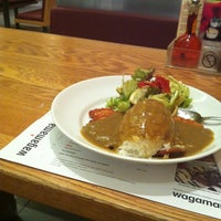 Photo taken at wagamama by ThreeSixty D. on 3/17/2012