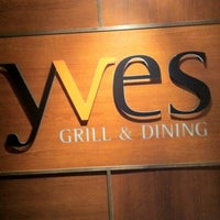 Photo taken at yves GRILL & DINING BAR by Julian I. on 2/20/2012