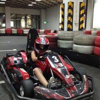 Photo taken at Baku Karting & Event Center by Emin on 8/29/2012