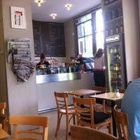 Photo taken at Village Bagels by Clayton B. on 6/28/2012