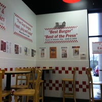 Photo taken at Five Guys by Patty H. on 4/7/2012