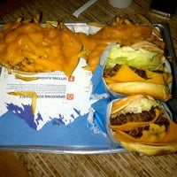 Photo taken at Elevation Burger by Hamad A. on 3/31/2012