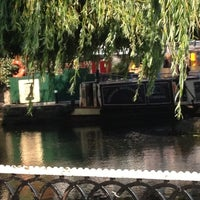 Photo taken at London Waterbus Company by George J. on 8/11/2012