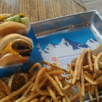 Photo taken at Elevation Burger by Daniel W. on 9/1/2012