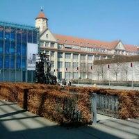 Photo taken at ZKM | Zentrum für Kunst und Medien by Michael M. R. on 3/20/2012