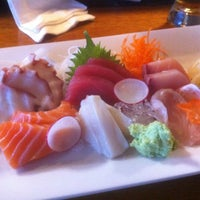 Photo taken at Marumi Sushi by Tom E. on 5/1/2012