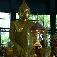 Photo taken at Wat Sangkhathan by Aommy K. on 4/14/2012
