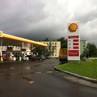 Photo taken at Shell by Андрюшка Я. on 8/27/2012