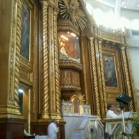 Photo taken at National Shrine of Our Lady of Peace and Good Voyage (Antipolo Cathedral) by april antoinette v. on 4/7/2012