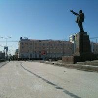 Photo taken at Площадь Ленина by Egor F. on 4/4/2012