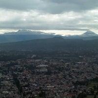 Photo taken at Cerro Xochitepec (De la Cruz) by Jaime Alejandro G. on 9/12/2012
