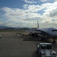 Photo taken at Fukuoka Airport (FUK) by Nobuyuki H. on 6/5/2012