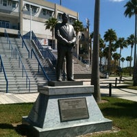 Photo taken at George M Steinbrenner Field by Debbie C. on 3/13/2012