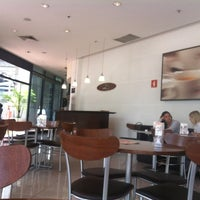 Photo taken at Fran's Café by Gilson G. on 2/14/2012