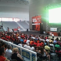 Photo taken at Pavello Basquet Cornella by Luis F. on 6/10/2012