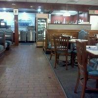 Photo taken at Mykonos Family Restaurant by Stephen M. on 4/18/2012