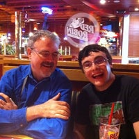 Photo taken at Red Robin Gourmet Burgers by Allie D. on 4/3/2012