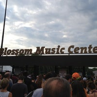 Photo taken at Blossom Music Center by Dino P. on 6/24/2012