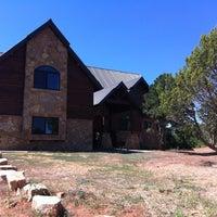 Photo taken at Zion Ponderosa Ranch Resort by Julie W. on 6/22/2012