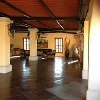 Photo taken at Hacienda Las Higueras by lady b. on 2/14/2012