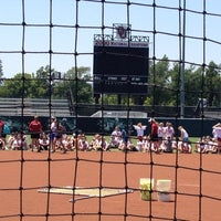 Photo taken at Marita Hynes Field at the OU Softball Complex by Lee T. on 6/18/2012