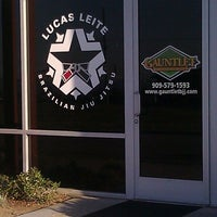 Photo taken at Gauntlet Brazilian Jiu Jitsu by Ron B. on 2/23/2012