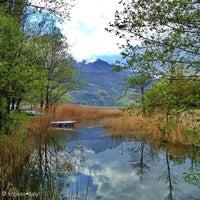 Photo taken at Lago di Caldonazzo by Enrico A. on 4/26/2012