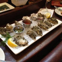 Photo taken at The Brooklyn Seafood, Steak & Oyster House by Regan C. on 3/14/2012