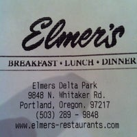 Photo taken at Elmer's Restaurant by Lyn A. on 6/5/2012