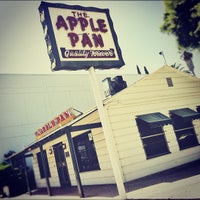 Photo taken at The Apple Pan by Kacy J. on 8/30/2012