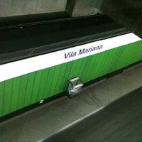 Foto tirada no(a) Estação Vila Mariana (Metrô) por Roberto P. em 9/7/2012