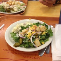 Photo taken at Sweet Tomatoes by Carolyn M. on 6/28/2012