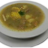 Photo taken at La Nueva Colombia Restaurant by Alex C. on 2/10/2012