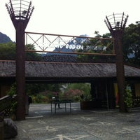 Photo taken at Sarawak Cultural Village by Wan Nor Fara Idayu D. on 4/15/2012