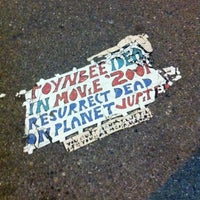 Photo taken at Toynbee Tile by technicolor_cat on 2/19/2012