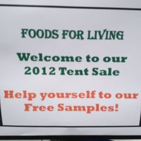 Photo taken at Foods For Living by Anthony D. on 9/9/2012