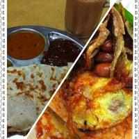 Photo taken at Restoran S. Sukumaran by Kristie on 3/8/2012