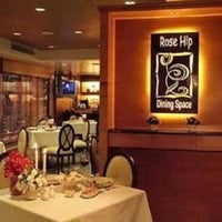 Photo taken at Rose Hip Dining Space @ Rose Hotel by Gina D. on 8/11/2012