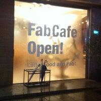 Photo taken at FabCafe Tokyo by Masaru I. on 3/9/2012