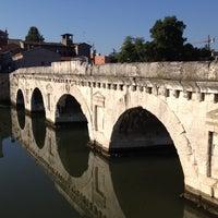 Photo prise au Ponte di Tiberio par Emanuela T. le8/4/2012